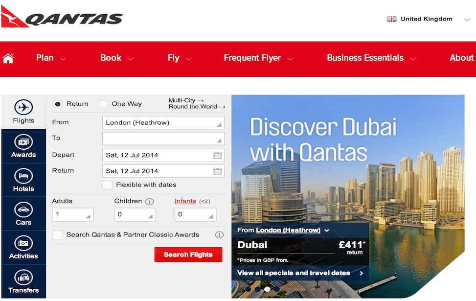 consultancy for Qantas on forecasting systems